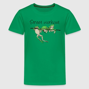 street workout - Teenage Premium T-Shirt