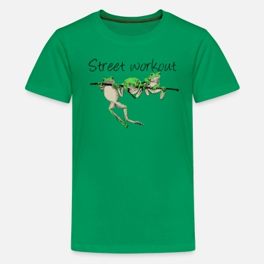 Workout street workout - Teenager Premium T-Shirt