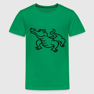Krokodil Crocodile - Teenager Premium T-shirt