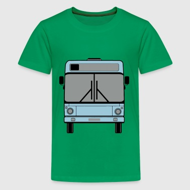 Schulbus , Bus , Stadtbus - Teenager Premium T-Shirt