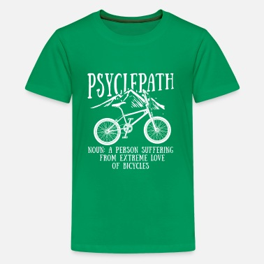 Racing Cycle Psyclepath enjoy the ride chilled offroad cycle - Camiseta premium adolescente