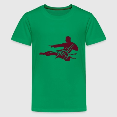 Martial arts male eu - Teenage Premium T-Shirt