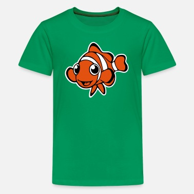 Clownfisch Clownfisch (Vektor) - Teenager Premium T-Shirt