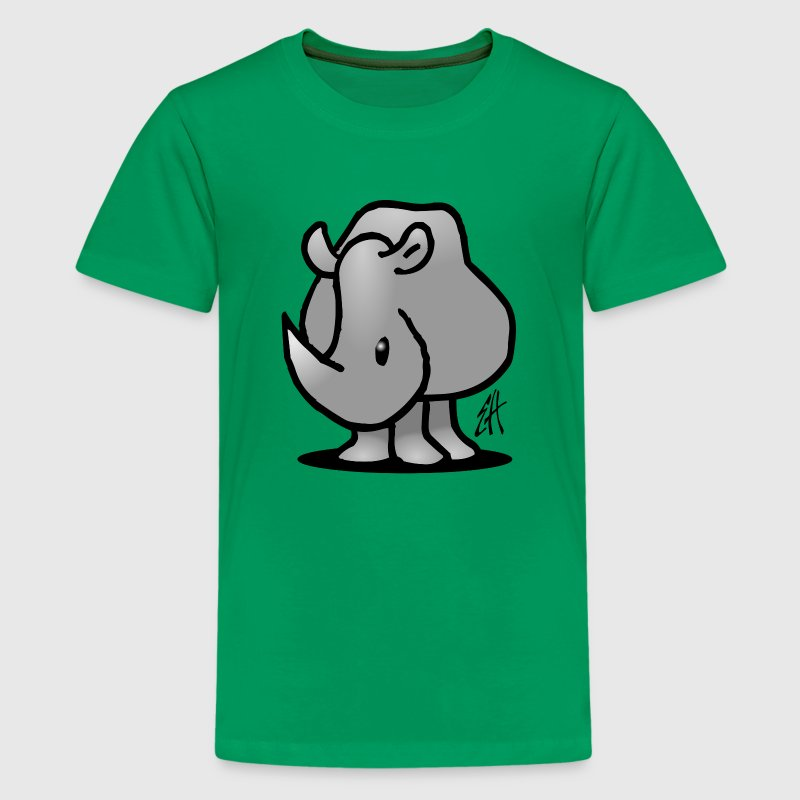 Neushoorn - Teenager Premium T-shirt