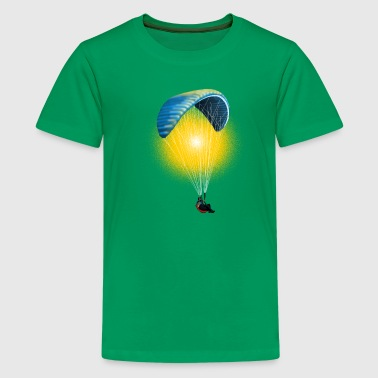 paragliding - Teenage Premium T-Shirt