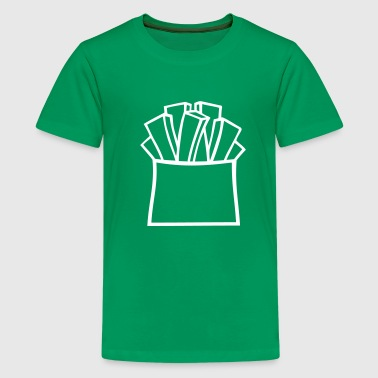 Pommes - Teenager Premium T-Shirt