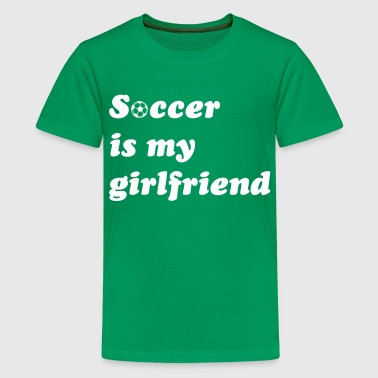 football soccer  - Teenage Premium T-Shirt