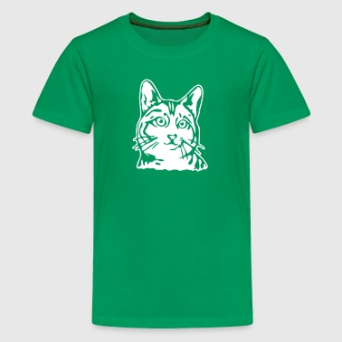 Katze 2 - Teenager Premium T-Shirt