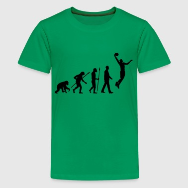 evolution_basketball_102012_a_1c - Teenager Premium T-Shirt