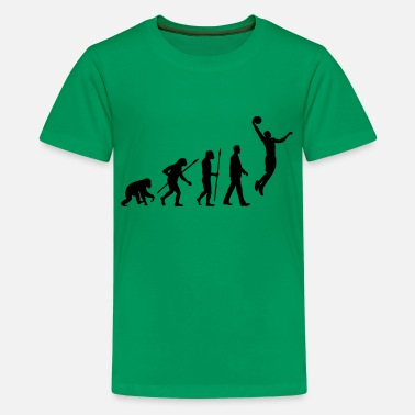 Basketball Evolution evolution_basketball_102012_a_1c - Teenager Premium T-Shirt