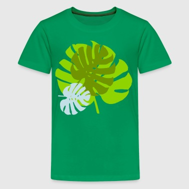 leaves - Teenage Premium T-Shirt