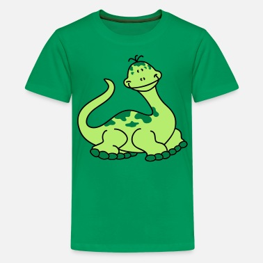 Nifty Nifty little Dino - Teenage Premium T-Shirt