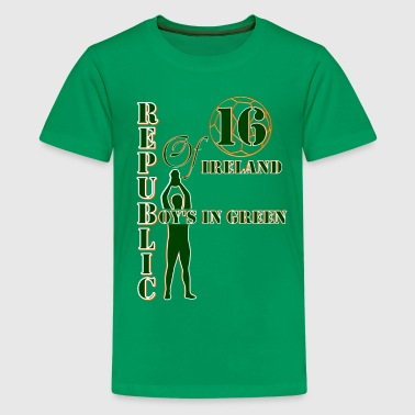 Republic of Ireland boys - Teenage Premium T-Shirt