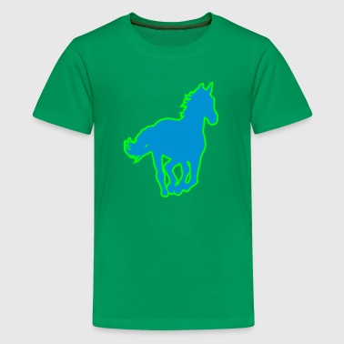 Pferd - Teenager Premium T-Shirt