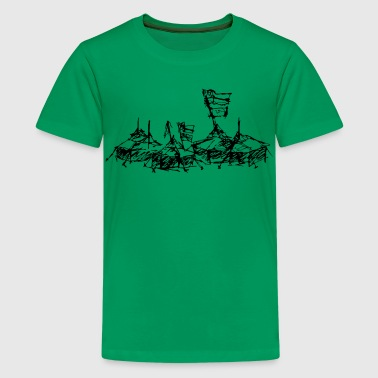 ... mein Dorf - Teenager Premium T-Shirt