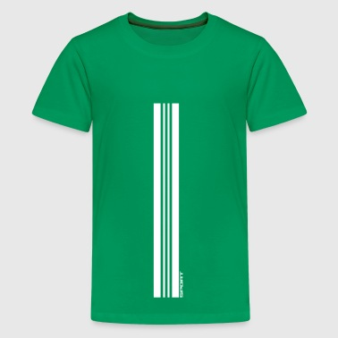 sport stripes - Teenager Premium T-Shirt
