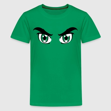 augen trickfilm comic - Teenager Premium T-Shirt