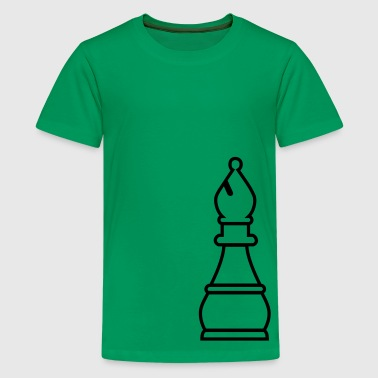 Chess Bishop - Teenage Premium T-Shirt