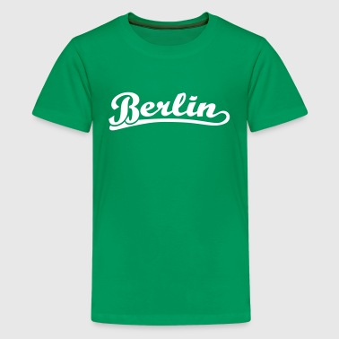 Berlin Schrift Retro - Teenager Premium T-Shirt