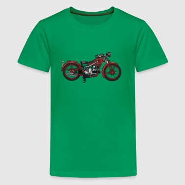 Retro motorcycle - Teenage Premium T-Shirt