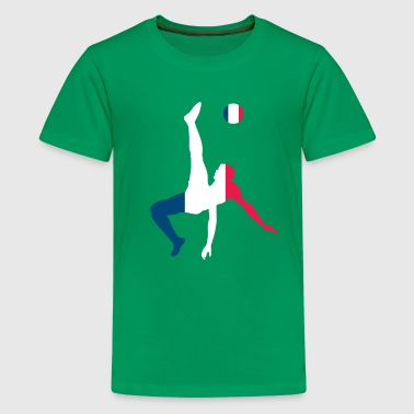 Soccer France - Teenage Premium T-Shirt