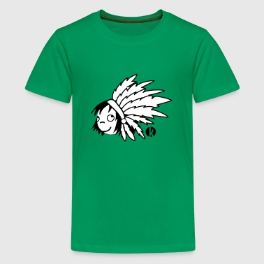 Indian Chief - Indian - Teenage Premium T-Shirt