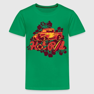 Hawaii Rod - T-shirt Premium Ado