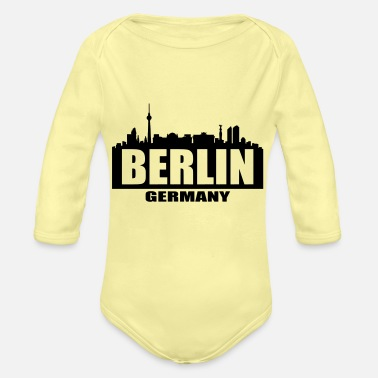 West Berlin Berlin - Organic Long-Sleeved Baby Bodysuit