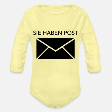 Post Sie haben Post - Baby Bio Langarmbody