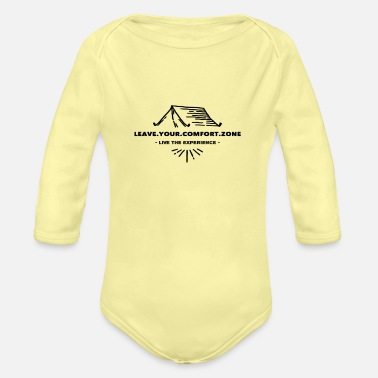 LEAVE.YOUR.COMFORT.ZONE Streetwear Live it - Baby Bio Langarmbody