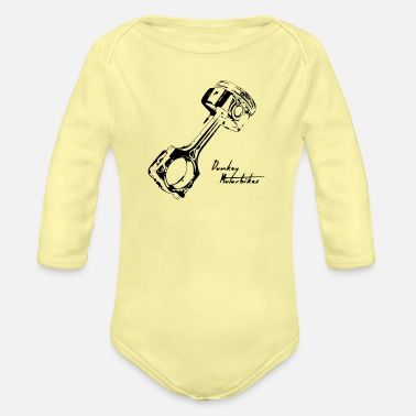 Piston Pistón - Organic Long-Sleeved Baby Bodysuit