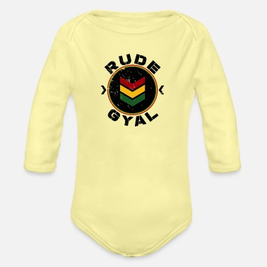 Rude Gal Rude Gyal - Organic Long-Sleeved Baby Bodysuit