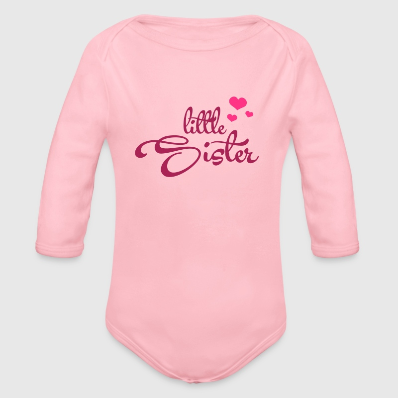 Little Sister with Hearts - Body bébé bio manches longues