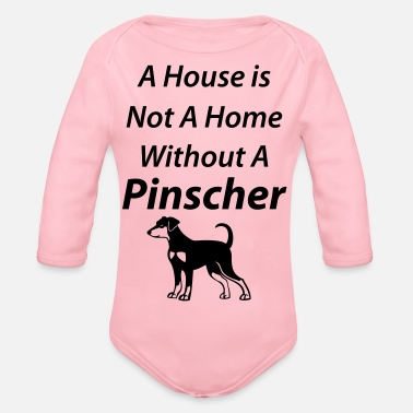 Home Without Pinscher 02 - Baby Bio Langarmbody