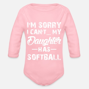 Softball fille softball - Body bébé bio manches longues
