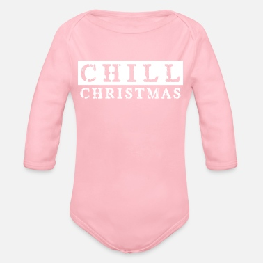 Come Christmas comes Christmas is coming - Organic Long-Sleeved Baby Bodysuit