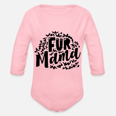 Fur Fur mama - Organic Long-Sleeved Baby Bodysuit