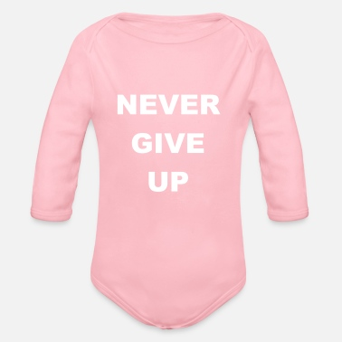 Up Never Give Up - Body a manica lunga per neonati