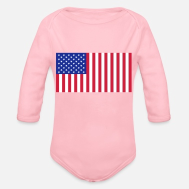 State state - Organic Longsleeve Baby Bodysuit