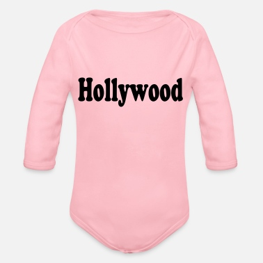 Hollywood hollywood - Økologisk langærmet babybody