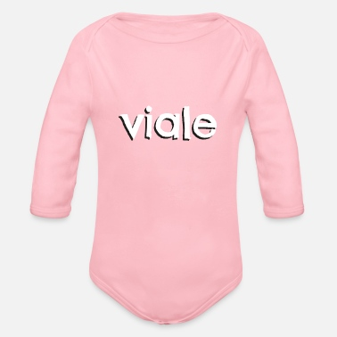 Vial LCFun | Viale - Organic Long-Sleeved Baby Bodysuit