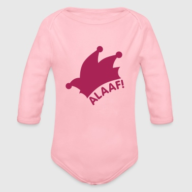 Alaaf / Fasching / Narrenkappe - Baby Bio-Langarm-Body