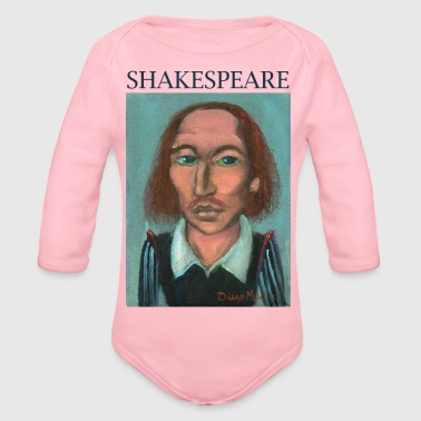 Shakespeare William Shakespeare - Body bébé bio manches longues