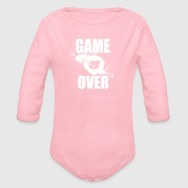 Gamer - Game Over - Økologisk langermet baby-body