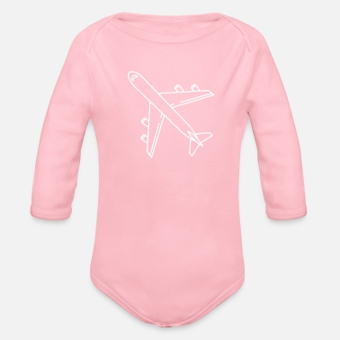 Jet jet - Organic Long-Sleeved Baby Bodysuit