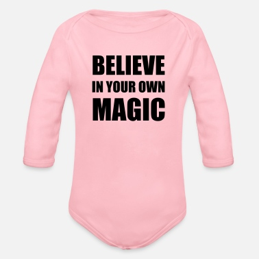 Believe Magic - Body Bébé bio manches longues