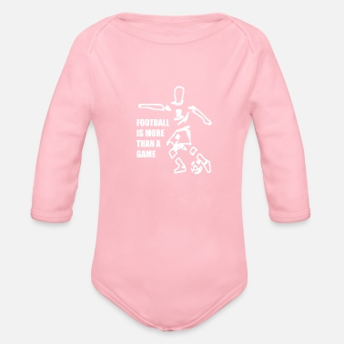 Football Game Football Football Game - Organic Long-Sleeved Baby Bodysuit