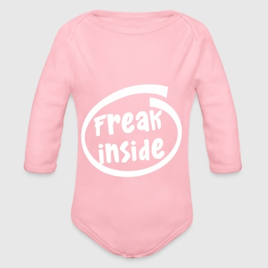 freak inside (1835B) - Baby Bio-Langarm-Body