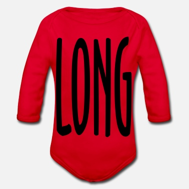 Long LONG - Organic Long-Sleeved Baby Bodysuit