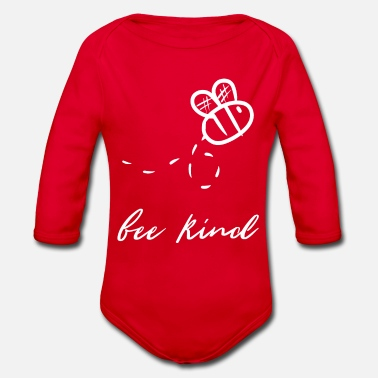 Bee Bee bees bee kill bee bee bee - Organic Long-Sleeved Baby Bodysuit